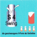 French Manikür-Schablonen SWING